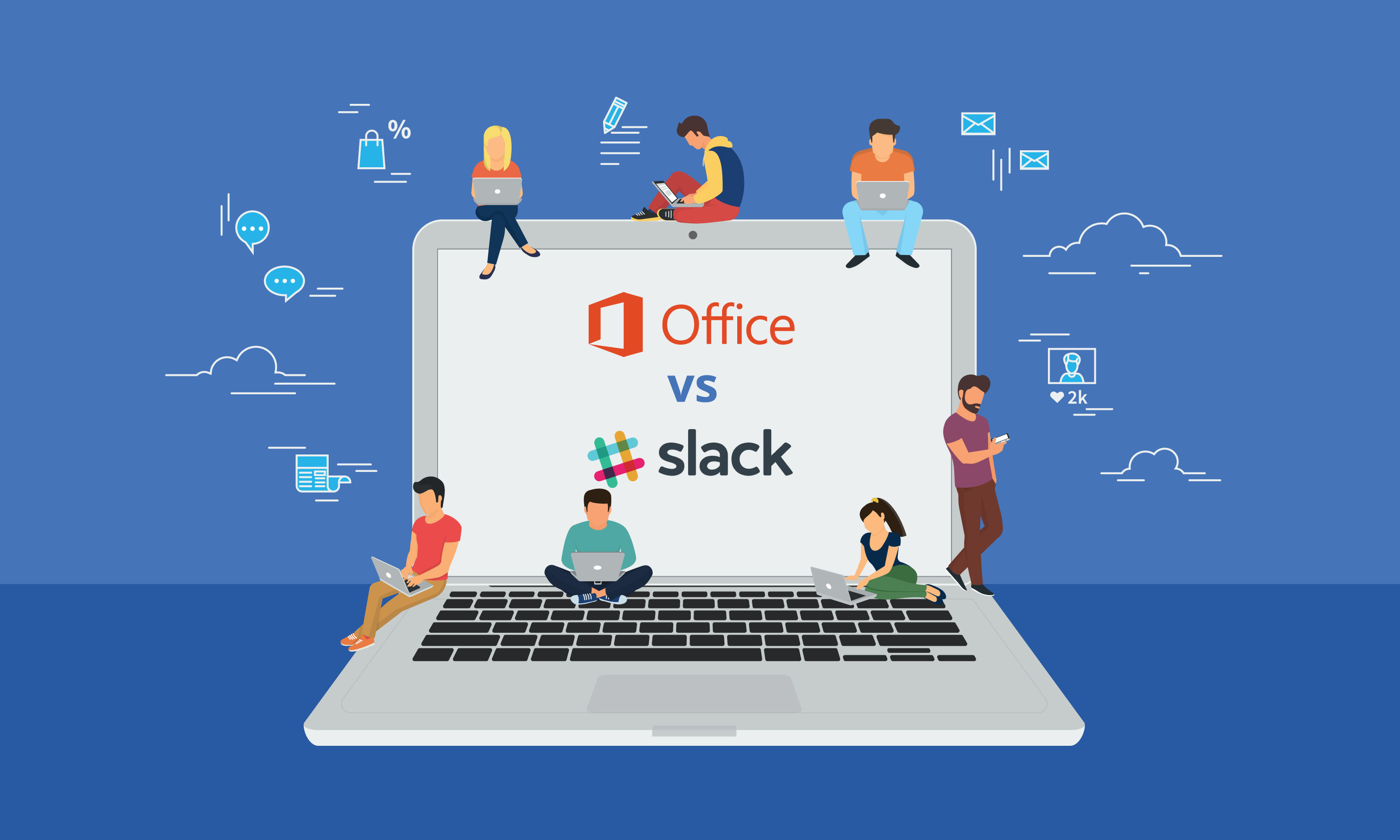 Office vs Slack
