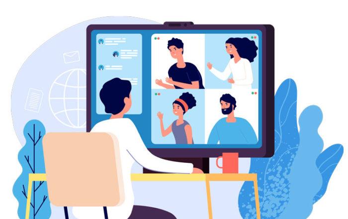 Online security when videoconferencing